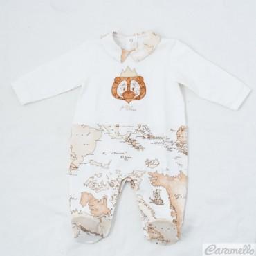 Tutina neonato con leoncino...