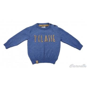Cardigan neonato con logo 1...