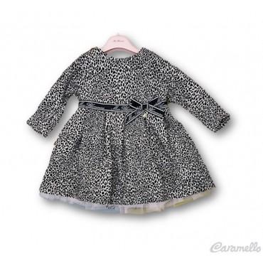 Vestito animalier neonata...