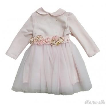 Vestito neonata con strass...