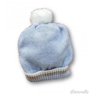Cappello neonato con pompon...