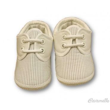 Scarpe neonato rigate STELLA