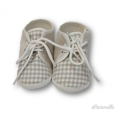 Scarpe neonato con fantasia...