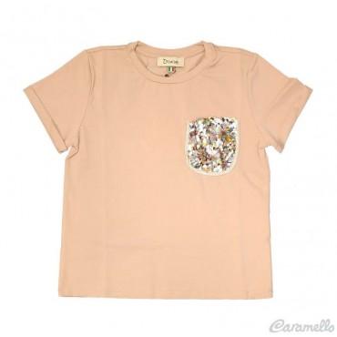T-shirt ragazza DIXIE con...