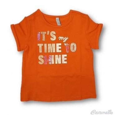 T-shirt bambina con scritta...