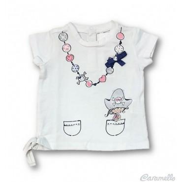 T-shirt neonata con stampa...