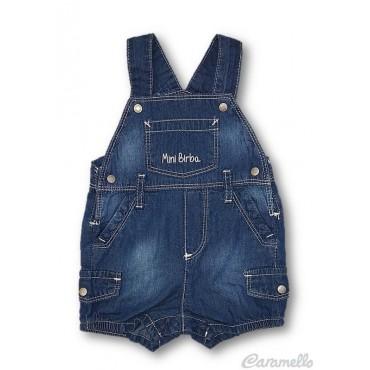 Salopette corta jeans...