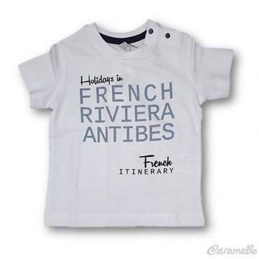T-shirt manica corta in...