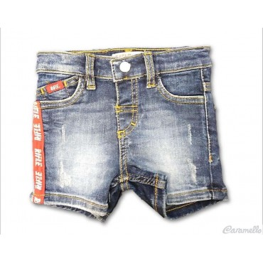 Bermuda jeans 5 tasche con...