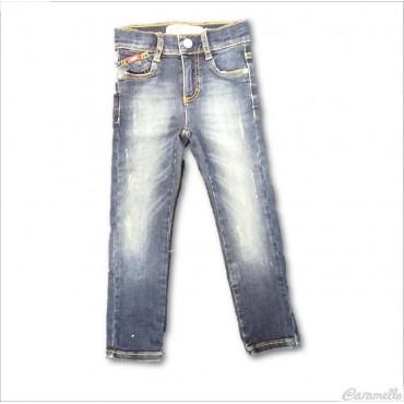 Pantalone jeans lungo 5...
