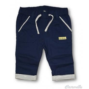Pantalone drill con...