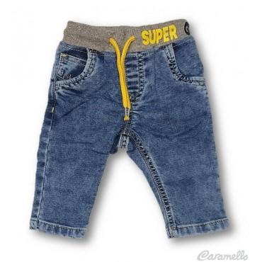 Pantalone jeans con...