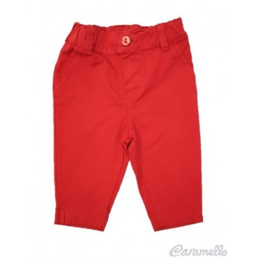 Pantalone in popeline con...