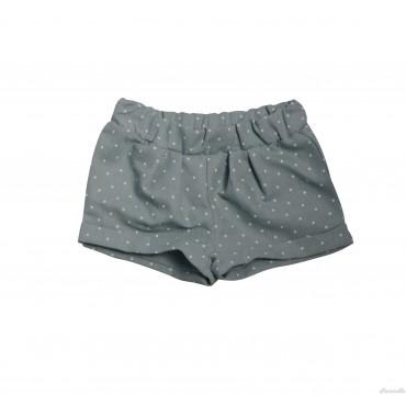 Shorts in piquet a pois EMC