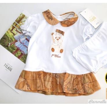 Abito neonata con culotte...