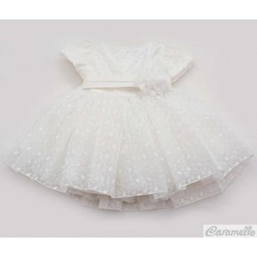 Vestito neonata in tulle...