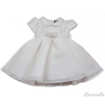 Vestito neonata in raso EMC art. AA4457