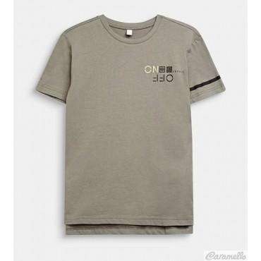 T-shirt con stampa fluo ESPRIT