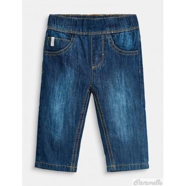 Jeans effetto slavato con fodera in jersey ESPRIT