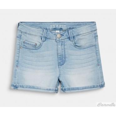 Shorts di jeans con cintura...