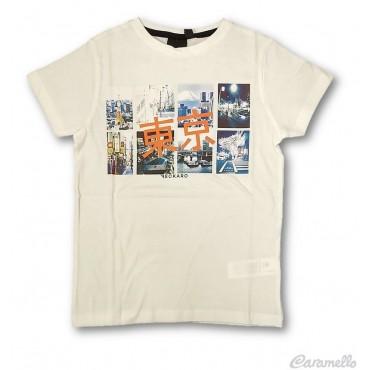 T-shirt con stampa BECKARO