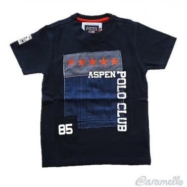 T-shirt con stampa ASPEN...