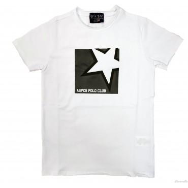 T-shirt con stampa stella...