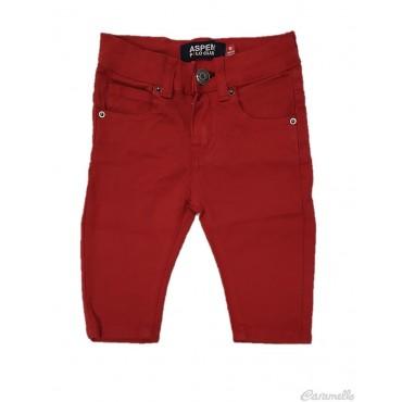 Pantalone in cotone rasato...