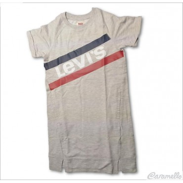 T-shirt con stampa logo a...