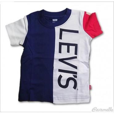 T-shirt bambino tricolore...