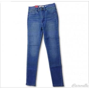 Jeans 5 tasche a vita...
