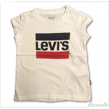 T-shirt con stampa logo...