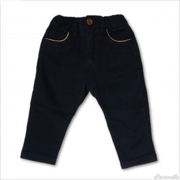 Pantaloni a tinta unita con...