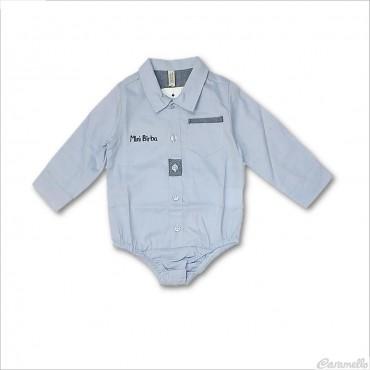 Camicia body oxford neonato...