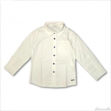 Camicia basic con bottoni a...