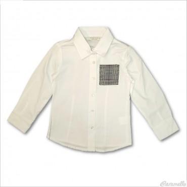 Camicia basic con taschino...