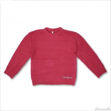 Maglia tricot con logo...