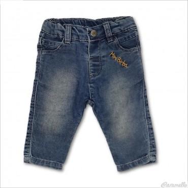 Jeans 5 tasche con logo...