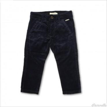 Pantalone in velluto liscio...