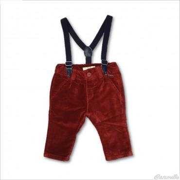 Pantalone velluto liscio...