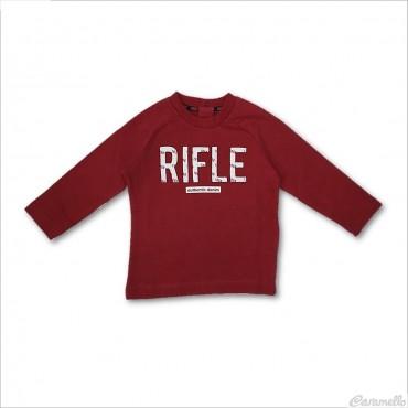 Felpa con mega logo Rifle