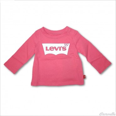 T-shirt con stampa logo Levi's