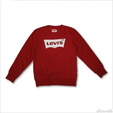 Felpa con stampa logo Levi's