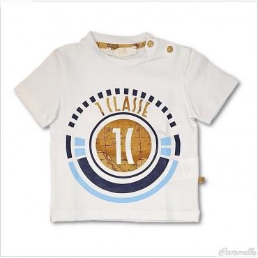 T-shirt con logo centrale...