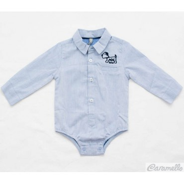 Camicia body Oxford con...