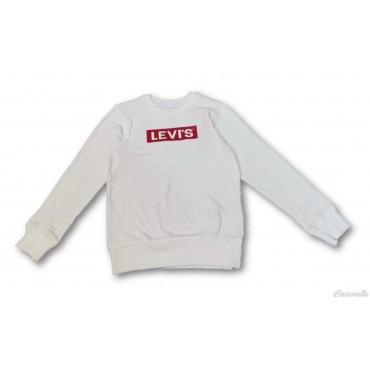 Felpa con logo ricamato Levi's