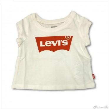T-shirt smanicata con...