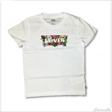 T-shirt con logo cangiante...