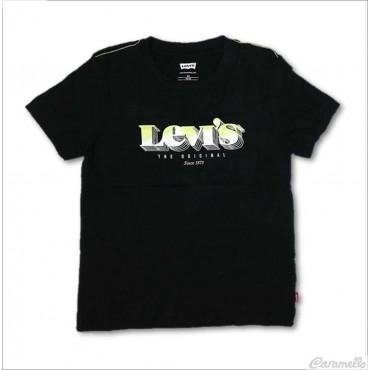 T-shirt con logo 3D fluo...