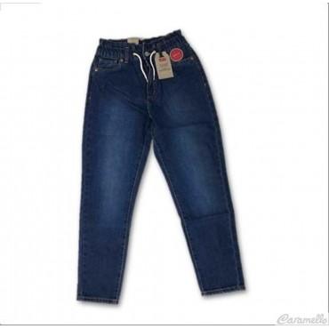Jeans vita alta con...